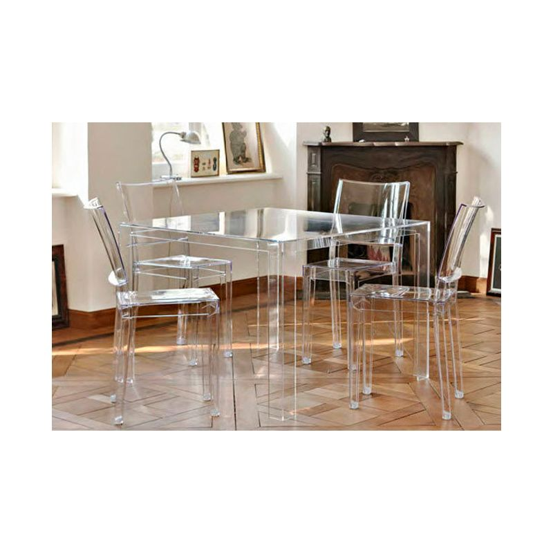 table de chevet kartell. Black Bedroom Furniture Sets. Home Design Ideas